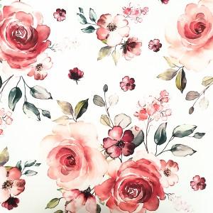 Umetno usnje, vrtnice rdeča