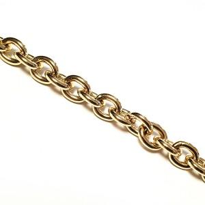Ketnica za torbice 11,5 mm, zlata