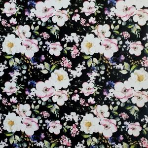 Pomladno cvetje, črna