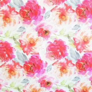 Umetno usnje Roses, roza