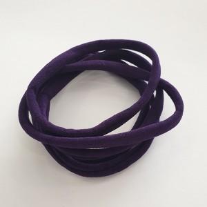 Naglavni trak iz najlona, temno vijolična, 5 kos