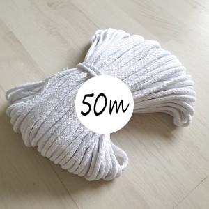 bombazna vrvica bela 5 mm