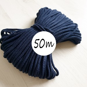 bombazna vrvica 5 mm, temno modra