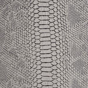 Umetno usnje Kača, siva
