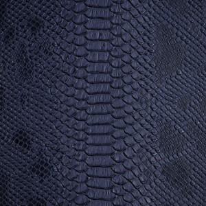 Umetno usnje Kača, temno modra