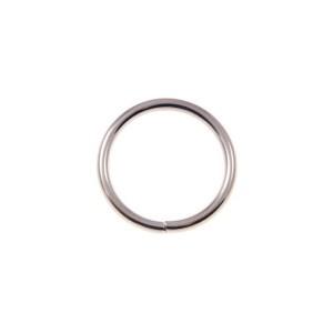 kovinski povezovalni člen za torbe, krog