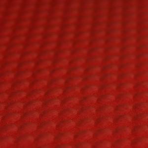 pletivo krogi, živo rdeča