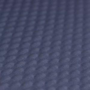 Pletivo krogi jeans modra