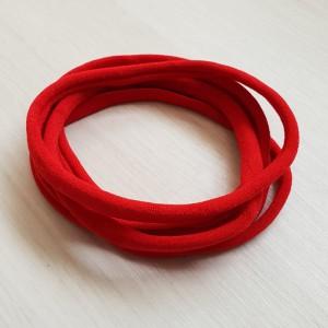 Naglavni trak iz najlona, rdeča, 5 kos