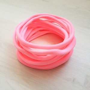Elastika iz najlona, roza, 10 kos