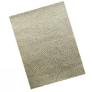 Umetno usnje kos 21X30 cm shiny zlata