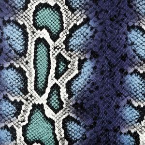 Umetno usnje Kača, piton modra