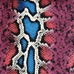 Umetno usnje Kača, piton roza