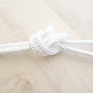 Sintetična vrvica, 6 mm, bela