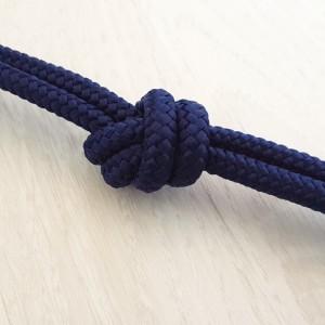 Sintetična vrvica, 6 mm, temno modra