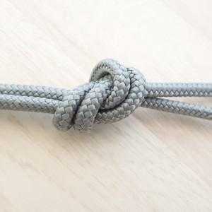 Sintetična vrvica, 6 mm, siva