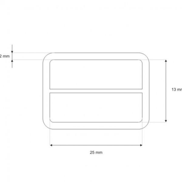 Kovinski regulator 25mm